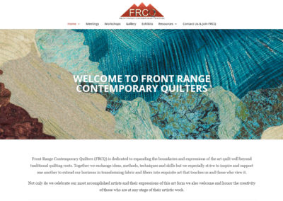 Front Range Contemporary Art Quilters