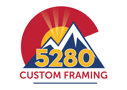 5280 custom framing logo