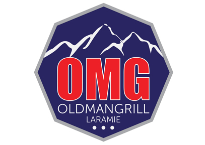 old man grill logo